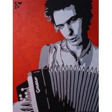 Иван Юрков. My way. Авторский плакат. 2012г.