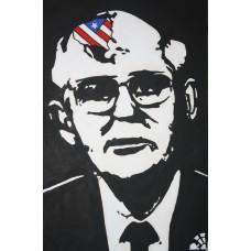 Иван Юрков. Призрак капитализма. Авторский плакат 2011г.