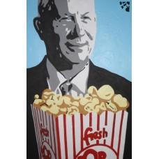Иван Юрков. Corn. Авторский плакат 2012г.